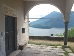 Musso st Eufemia church view - towns on Lake Como - Slow Lake Como